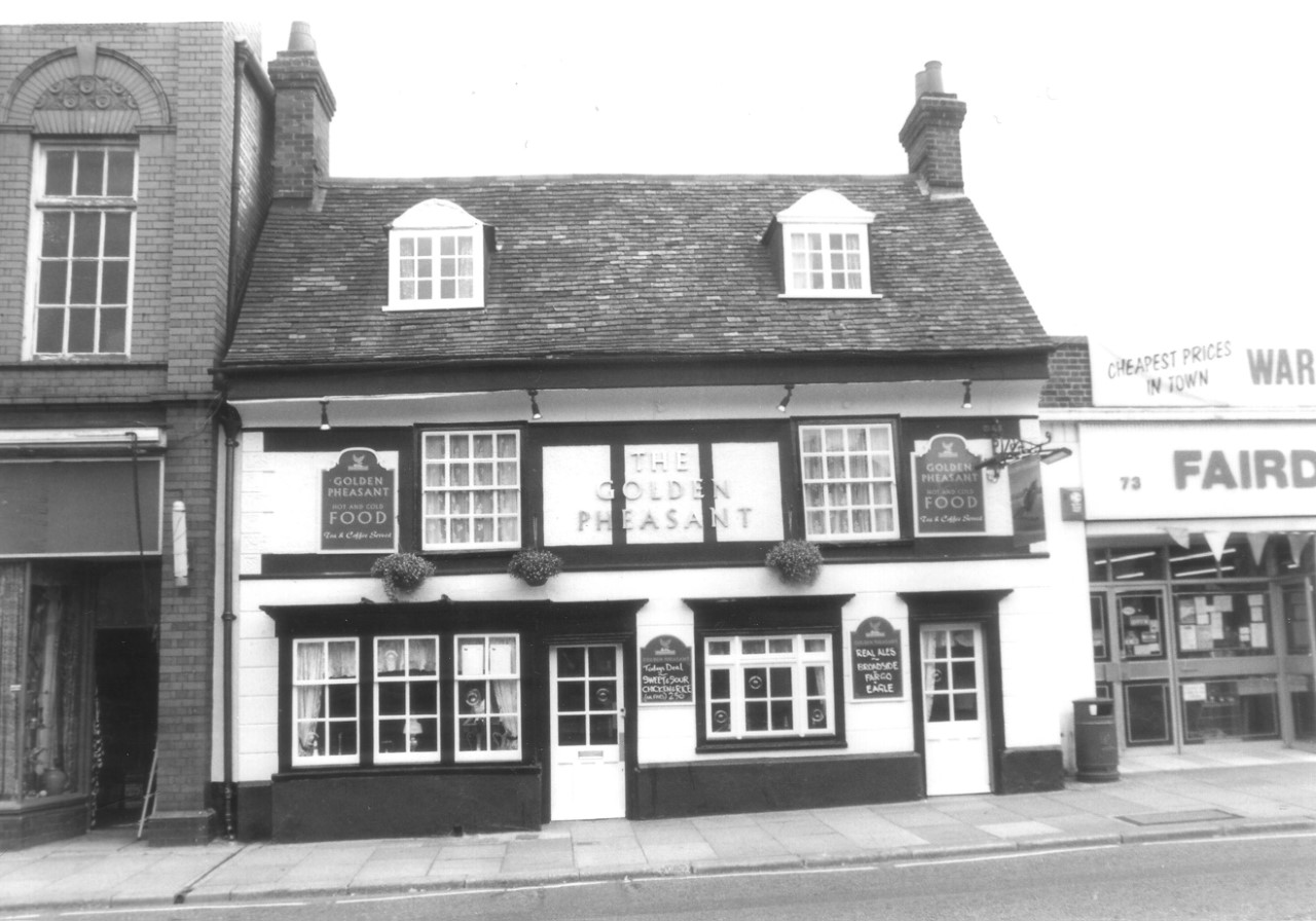 Biggleswade History - The Golden Pheasant 1960's