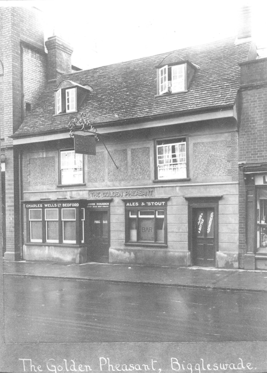 Biggleswade History - The Golden Pheasant 1920's